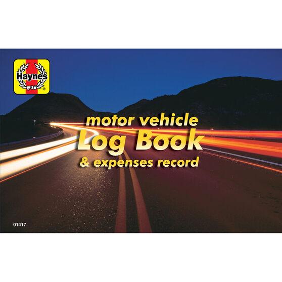 Haynes Log book and Vehicle Expenses - 01417, , scaau_hi-res