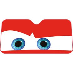 Red Eyes Sunshade - Fashion, 68x146cm, Accordian, Front, , scaau_hi-res