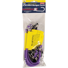 Gripwell Mini Bungee Cord - 25cm, 8 Pack, , scaau_hi-res