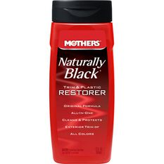 Mothers Naturally Black Trim & Plastic Restorer - 355mL, , scaau_hi-res