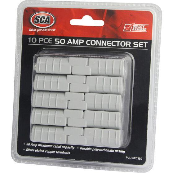 SCA 50 AMP Connector Set - 10 Piece, , scaau_hi-res