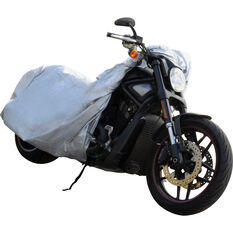 CoverALL Motorcycle Cover - Essential Protection - Suits Large Motorcycles, , scaau_hi-res