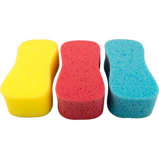 SCA Coloured Jumbo Sponge - 3 Pack, , scaau_hi-res