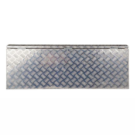 Thunderbox Aluminium Checkerplate Tool Box 114 Litre, , scaau_hi-res