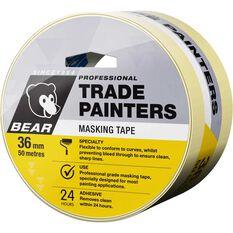 Norton Trade Painters Masking Tape - 36mm x 50m, , scaau_hi-res
