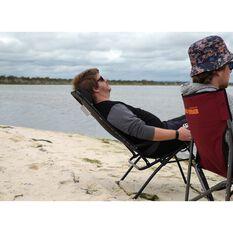 Ridge Ryder Hamilton Reclining Camping Chair - 140kg, , scaau_hi-res