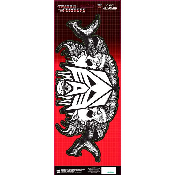 Hot Stuff Sticker - Decepticons Snakes, Vinyl, , scaau_hi-res