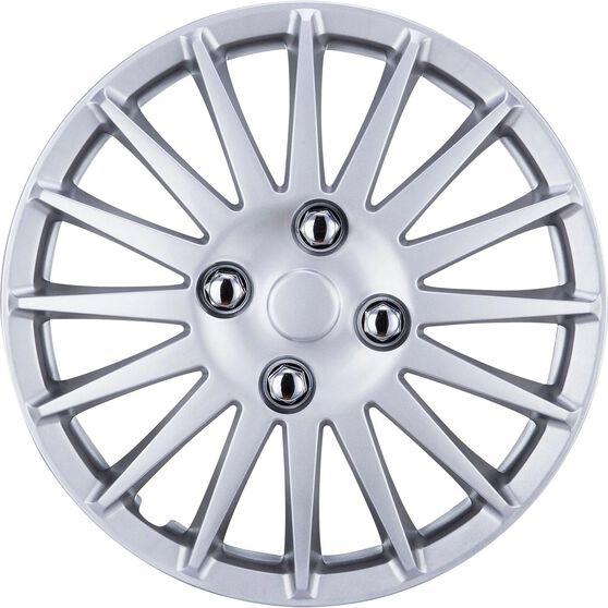 "SCA Wheel Covers - Turbine Silver 13"" Set of 4, , scaau_hi-res"