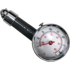 SCA Dial Tyre Gauge - 10-60 PSI, , scaau_hi-res