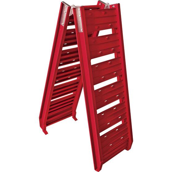 SCA Loading Ramp, Aluminium, Red, Single - 220kg, , scaau_hi-res