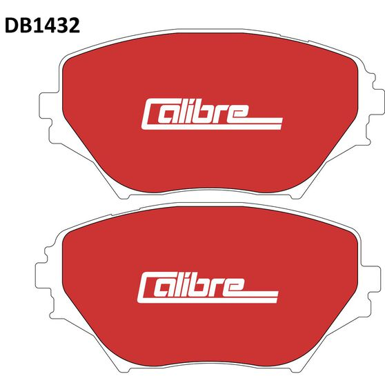 Calibre Disc Brake Pads DB1432CAL, , scaau_hi-res