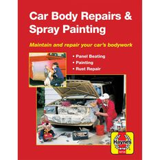 Haynes Manuals Car Body Repairs and Spray Painting, , scaau_hi-res