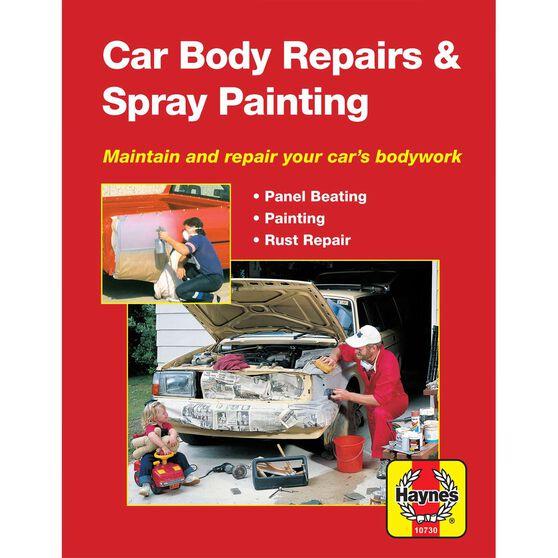 Haynes Manuals Car Body Repairs and Spray Painting, , scaau_hi-res