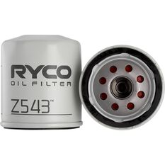 Ryco Oil Filter Z543, , scaau_hi-res
