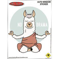 Sticker No Drama Llama SH8891, , scaau_hi-res