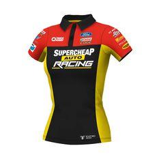 Supercheap Auto Racing Women's 2020 Team Polo Black 8, Black, scaau_hi-res