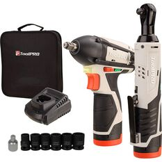 ToolPRO 12V Mechanics Power Tool Kit, , scaau_hi-res