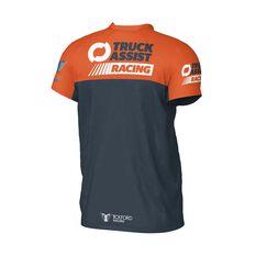 Truck Assist Racing Team Men's 2020 Team T-Shirt Charcoal S, Charcoal, scaau_hi-res