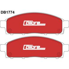 Calibre Disc Brake Pads DB1774CAL, , scaau_hi-res