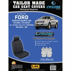 Ilana Cyclone Tailor Made Pack for Ford Ranger PX MKII Dual Cab 06/15+, , scaau_hi-res