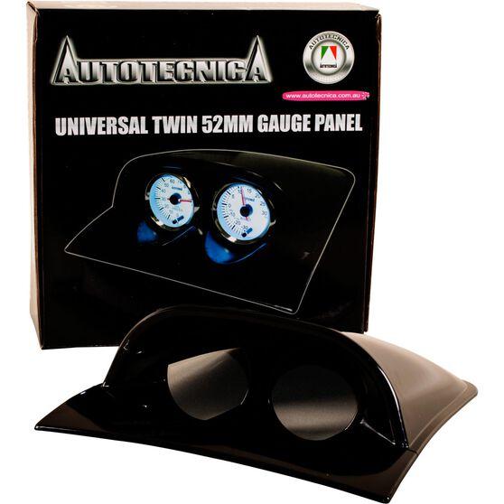 Universal Twin 52mm Gauge Panel, , scaau_hi-res