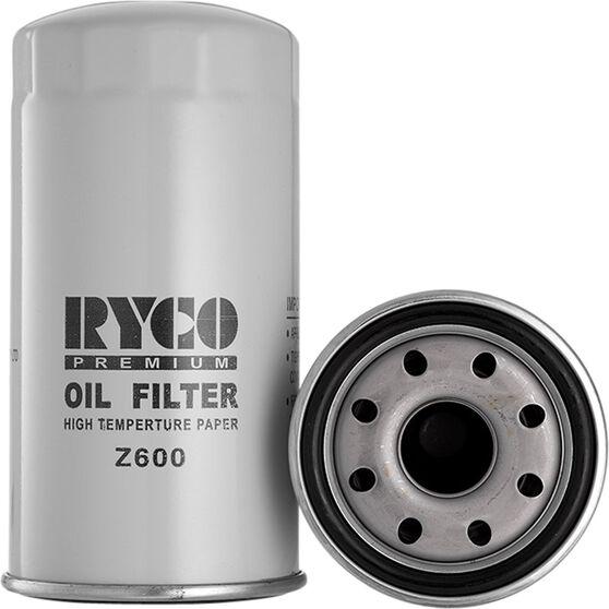 Ryco Oil Filter - Z600, , scaau_hi-res