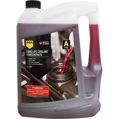 SCA Long Life Red Coolant Concentrate 5 Litre, , scaau_hi-res