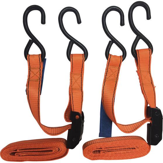 SCA Cambuckle Tie Down - 2.4m, 320kg, 2 Pack, , scaau_hi-res