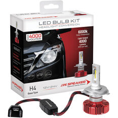 J.W. Speaker Headlight Conversion Kit LED H4, , scaau_hi-res