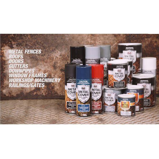 SCA Metal Cover Enamel Rust Paint Pewter 300g, , scaau_hi-res