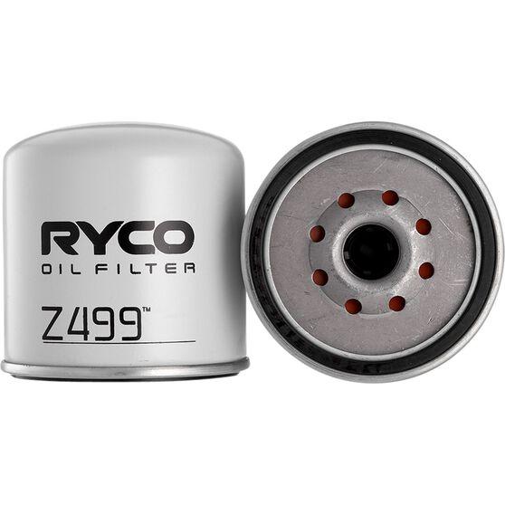 Ryco Oil Filter - Z499, , scaau_hi-res