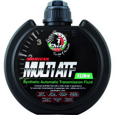 Mohican Auto Transmission Fluid - Synthetic Multi-Vehicle, 1 Litre, , scaau_hi-res