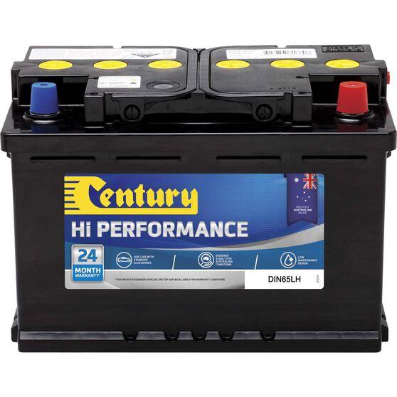 Century Hi Performance Car Battery DIN65LH, , scaau_hi-res