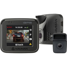 Navman FOCUS450 1080P Front and Rear Dash Camera with GPS, , scaau_hi-res