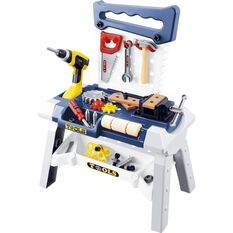 Kids Workbench with tools set, , scaau_hi-res