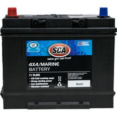 SCA 4WD Battery - SN50Z, 430CCA, , scaau_hi-res