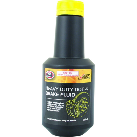 SCA Brake Fluid DOT 4 - 500mL, , scaau_hi-res