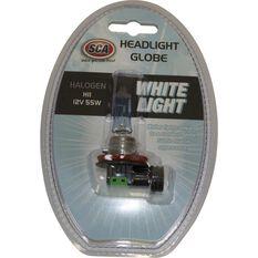 SCA White Light Performance Globes - 12V, 55W, H11, , scaau_hi-res