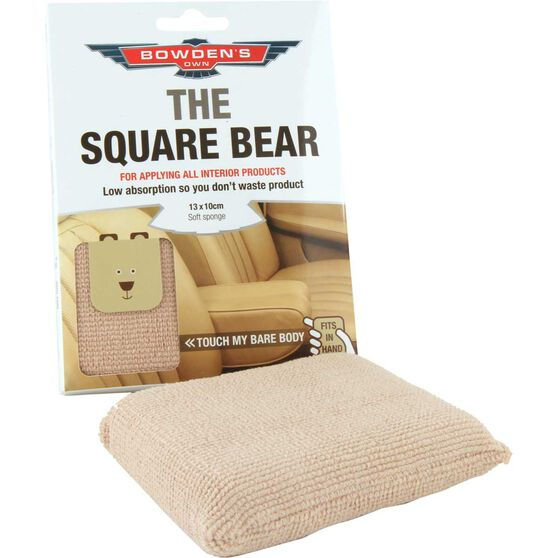 Bowden's Own Square Bear Applicator Pad, , scaau_hi-res