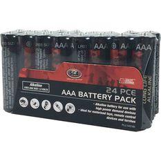 SCA Heavy Duty Alkaline AAA Batteries - 24 Pack, , scaau_hi-res