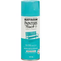 Rustoleum Aerosol Paint - Painters Touch Plus, Island Blue, , scaau_hi-res