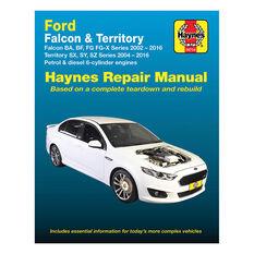 Haynes Car Manual For Ford Falcon / Territory 2002-2016 - 36734, , scaau_hi-res