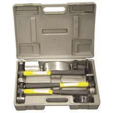 SCA Fibreglass Body Repair Kit - Yellow / Black, 7 Pieces, , scaau_hi-res