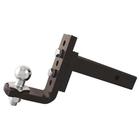 Hayman Reese Interlock Trailer Ball Mount - 5 Hole Adjustable, , scaau_hi-res