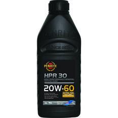 Penrite HPR 30 Engine Oil - 20W-60, 1 Litre, , scaau_hi-res