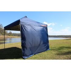 Ridge Ryder Deluxe Gazebo Side Wall - Blue, 3m, , scaau_hi-res