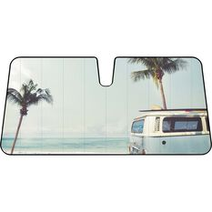 Front Accrodion Sunshade - 68x140cm, , scaau_hi-res