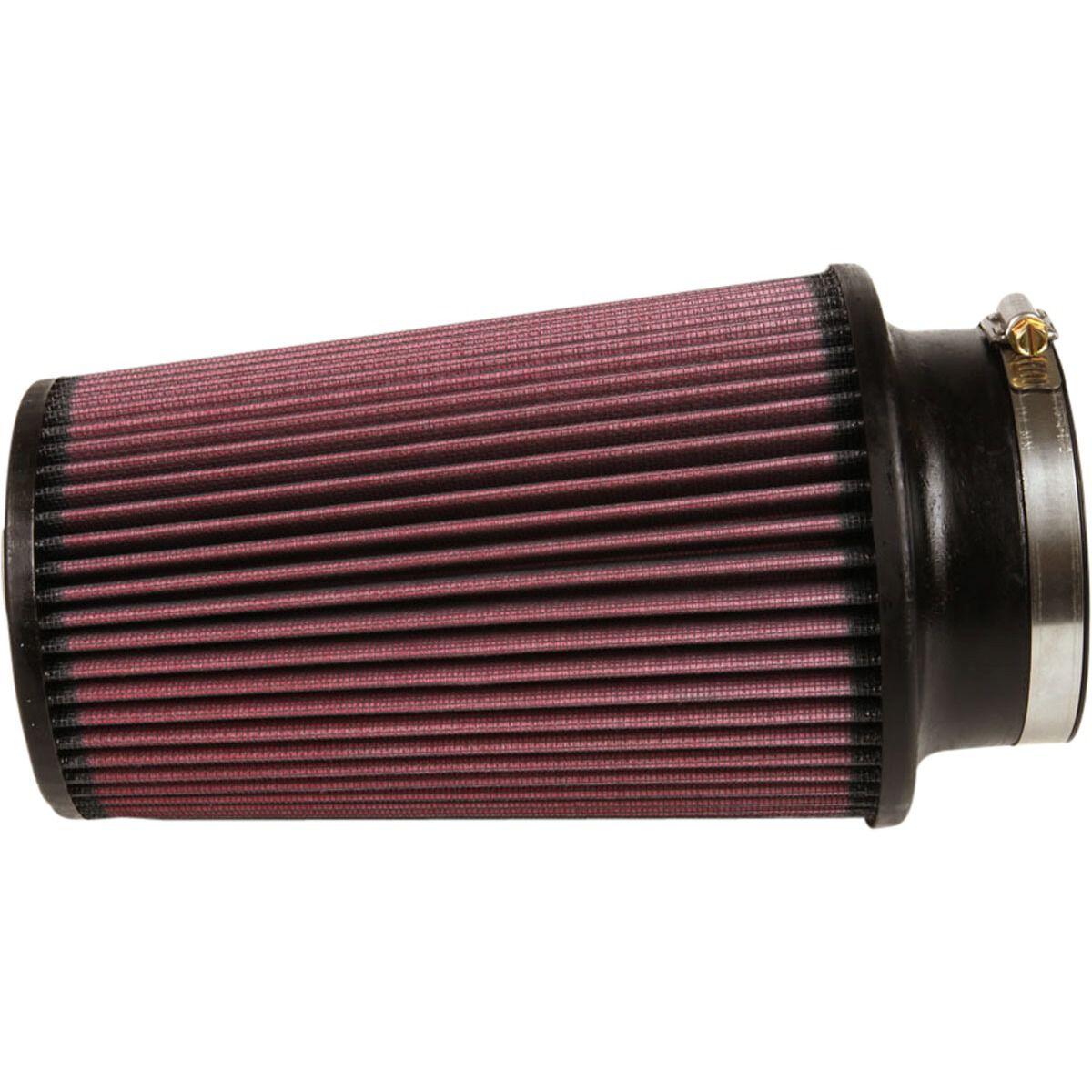 "4/"" Inlet//6/"" Long//6/"" Diameter K/&N Filters RE-0870 Universal Cone Air Filter"