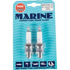 NGK Marine Spark Plug - BR7HS-10, 2 Pack, , scaau_hi-res