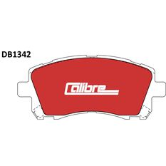 Calibre Disc Brake Pads DB1342CAL, , scaau_hi-res